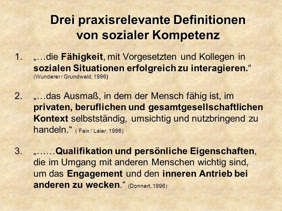 Soziale Kompetenz 11./12.Nov. 2004 15 Bewusstheitsrad !.