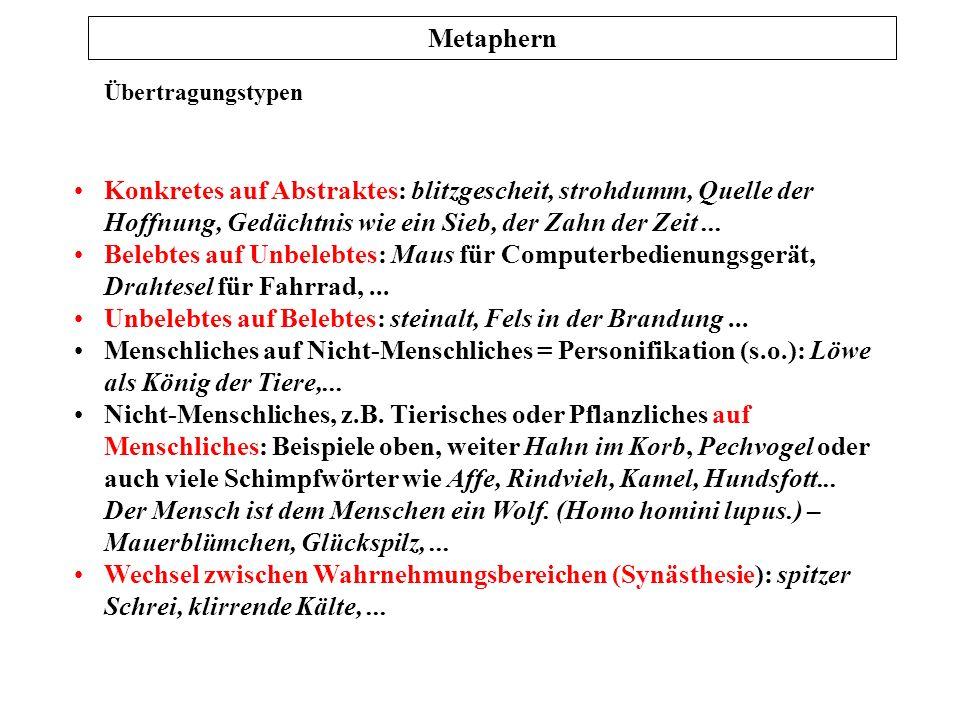 Prof. Dr. Karl-Dieter Bünting (Univerität Essen): Praktische Stilistik 2 Antonyme: semantisches Differential Peter R. Hofstätter: Gruppendynamik. roro