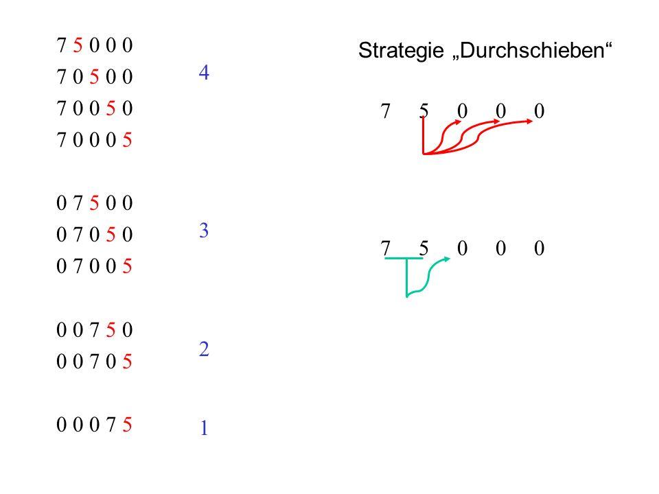 Ergänzende Problemstellung: Wie viele unterschiedliche Wege gibt es von A nach E?