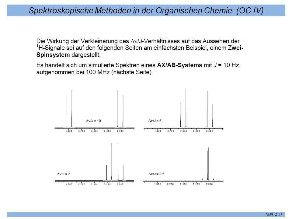 Spektroskopische Methoden in der Organischen Chemie (OC IV) NMR -2_17