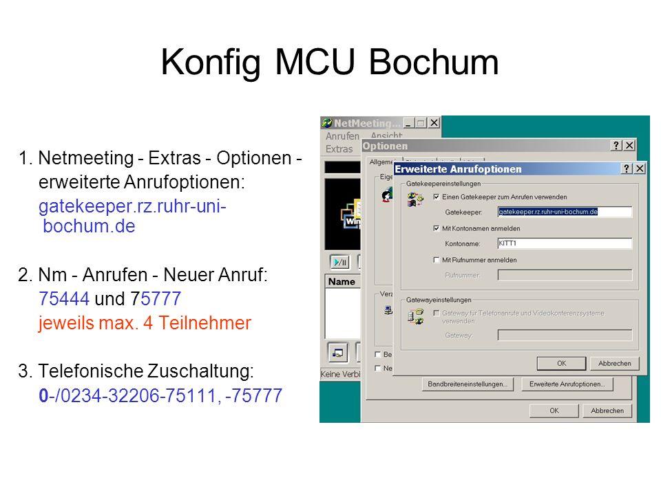 Konfig MCU Bochum 1.