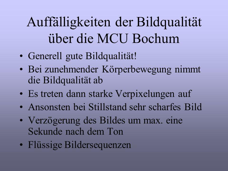 Bildmitschnitt von NetMeeting über die MCU Bochum