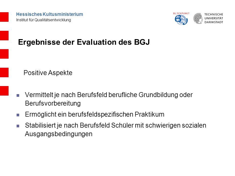 Hessisches Kultusministerium Institut für Qualitätsentwicklung Schulischer Verbleib Übergänge in Ausbildung Betriebliche Akzeptanz Rolle des Praktikums Sozialstrukturelle Zusammensetzung d.