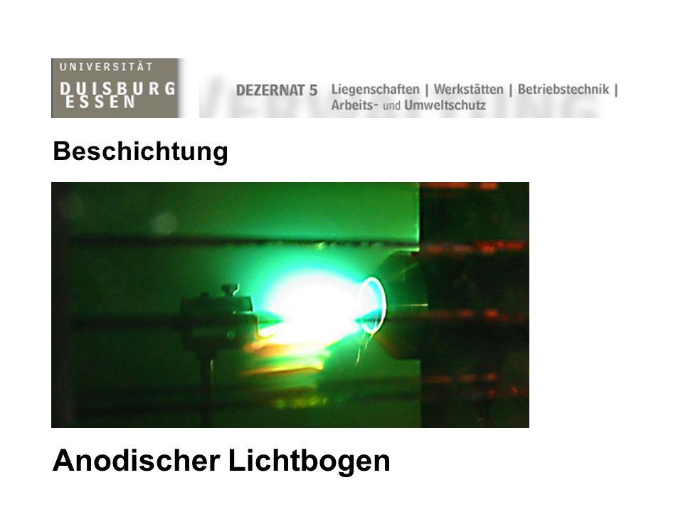 Anodischer Lichtbogen Beschichtung