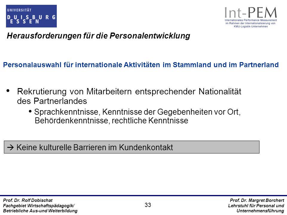 Prof.Dr. Rolf Dobischat Fachgebiet Wirtschaftspädagogik/ Betriebliche Aus-und Weiterbildung Prof.