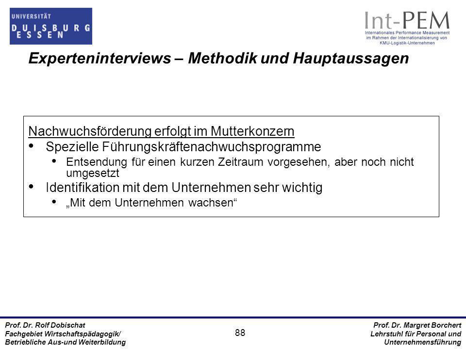 Prof. Dr. Rolf Dobischat Fachgebiet Wirtschaftspädagogik/ Betriebliche Aus-und Weiterbildung Prof. Dr. Margret Borchert Lehrstuhl für Personal und Unt
