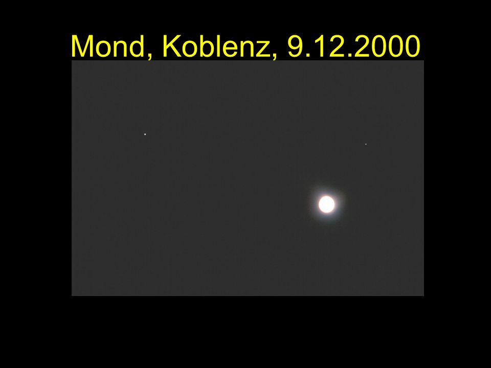 Mond, Koblenz, 9.12.2000