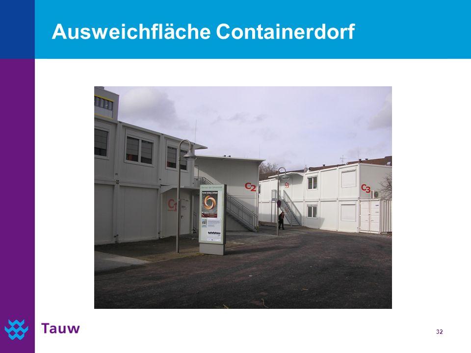 32 Ausweichfläche Containerdorf