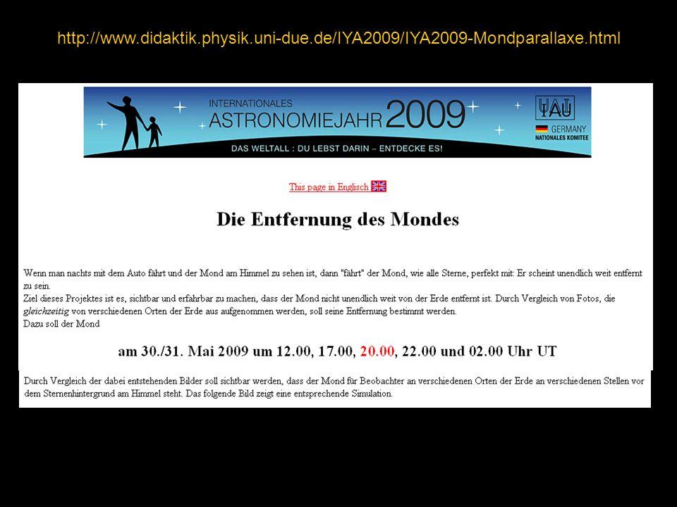 http://www.didaktik.physik.uni-due.de/IYA2009/IYA2009-Mondparallaxe.html