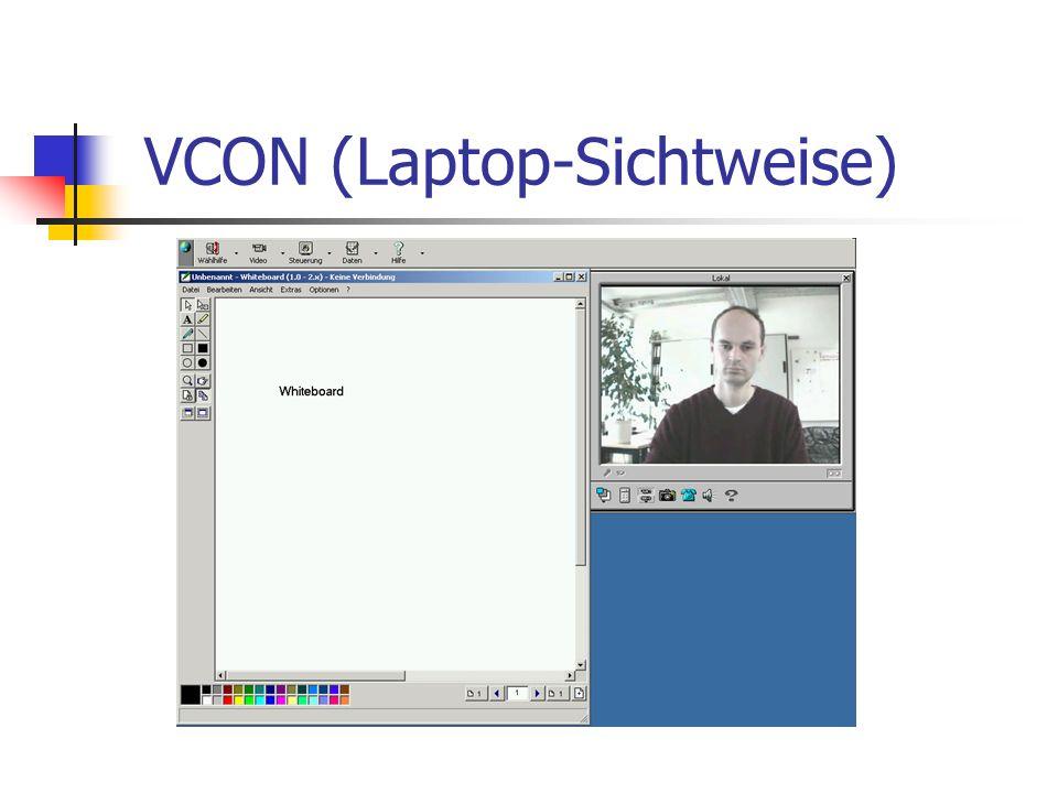 VCON (Laptop-Sichtweise)
