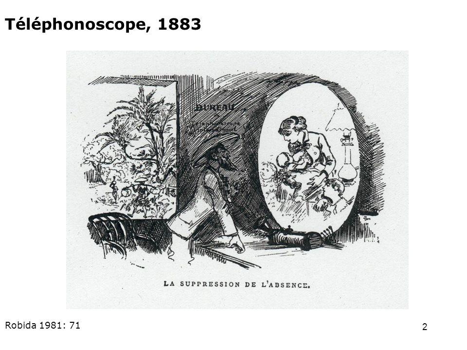 2 Téléphonoscope, 1883 Robida 1981: 71