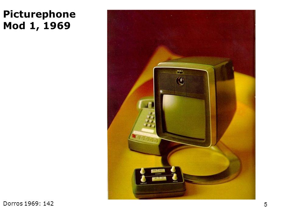 5 Dorros 1969: 142 Picturephone Mod 1, 1969