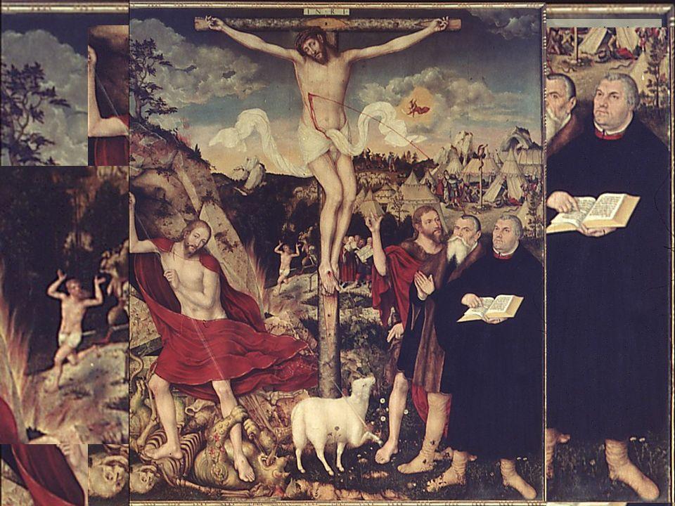 KG der Frühen Neuzeit - WS 2006/07 - Frömmigkeit und Kult 10 1.7.2 das protestantische Altarbild – sola gratia