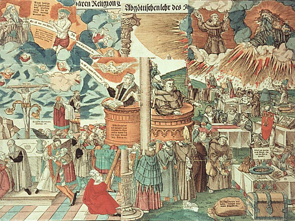 KG der Frühen Neuzeit - WS 2006/07 - Frömmigkeit und Kult 11 1.7.3 das protestantische Altarbild – die Polemik