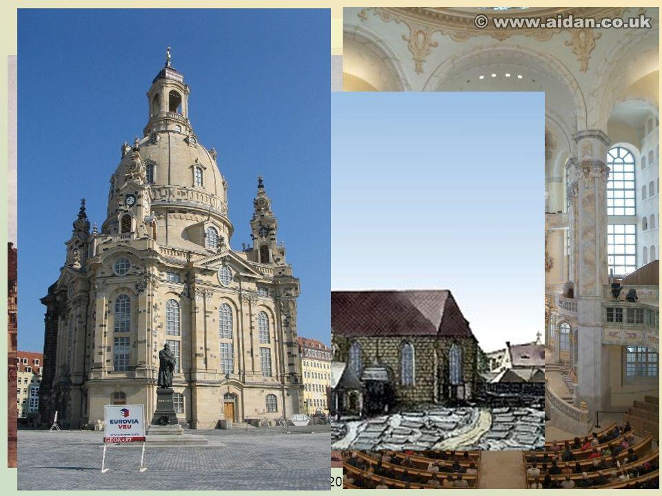 KG der Frühen Neuzeit - WS 2006/07 - Frömmigkeit und Kult 15 2.3 die Frauenkirche in Dresden