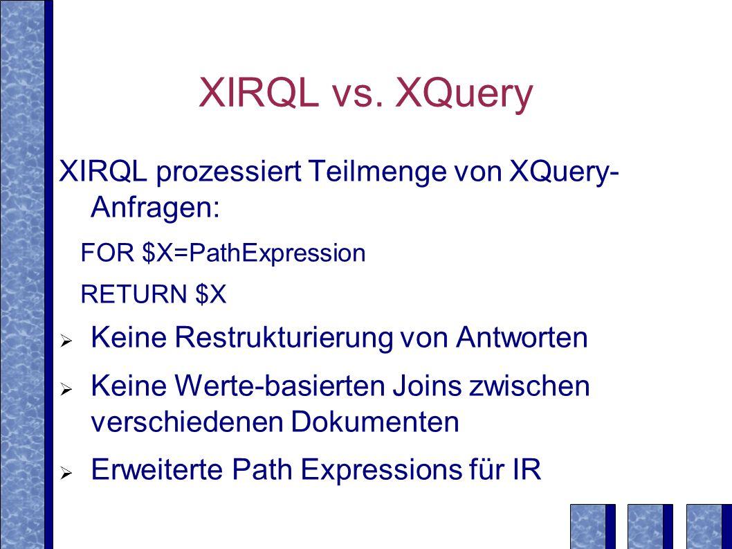 XIRQL vs.