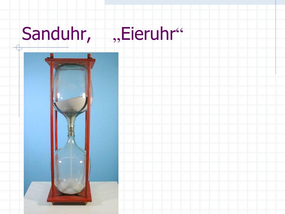 Sanduhr, Eieruhr