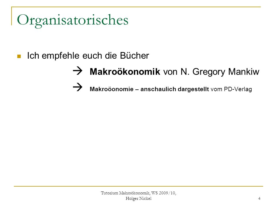 Tutorium Makroökonomik, WS 2009/10, Holger Nickel 5 Aufgabe 1//(SS2003 (Alternative 1)) a ) Stellen Sie graphisch die realen und monetären Ströme einer geschlossenen Volkswirtschaft mit Staat dar, unter der Berücksichtigung des Sparens der Sektoren.