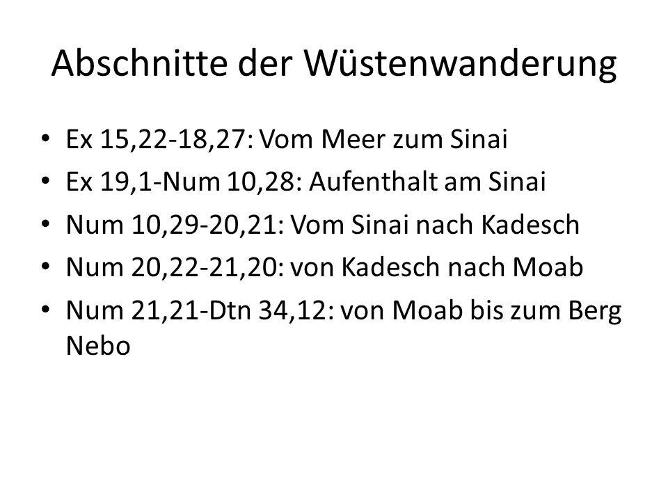 Dtn 32,4+34,1-10: Der Tod des Mose Moselied 32,4: Er ist ein Fels.