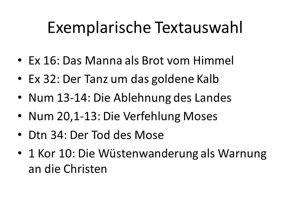 Num 13-14: Die Fürbitte des Mose Da erschien die Herrlichkeit des HERRN über der Stiftshütte allen Israeliten.