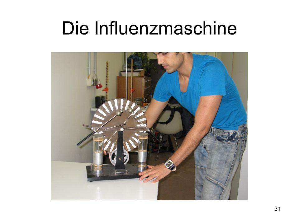31 Die Influenzmaschine