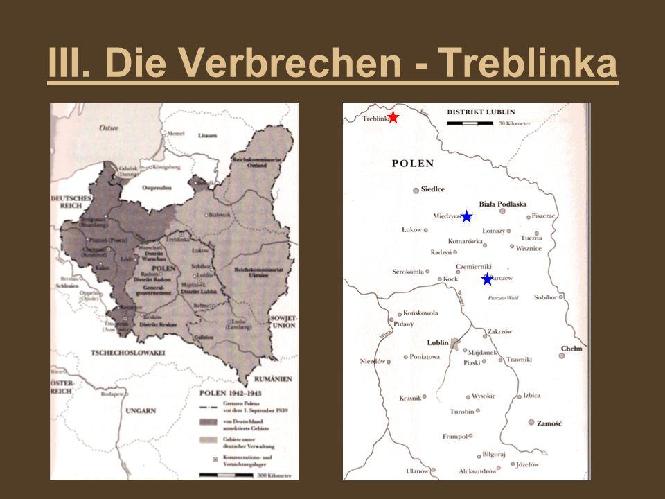 III. Die Verbrechen - Treblinka