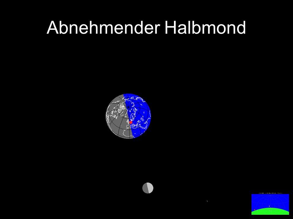 Abnehmender Halbmond