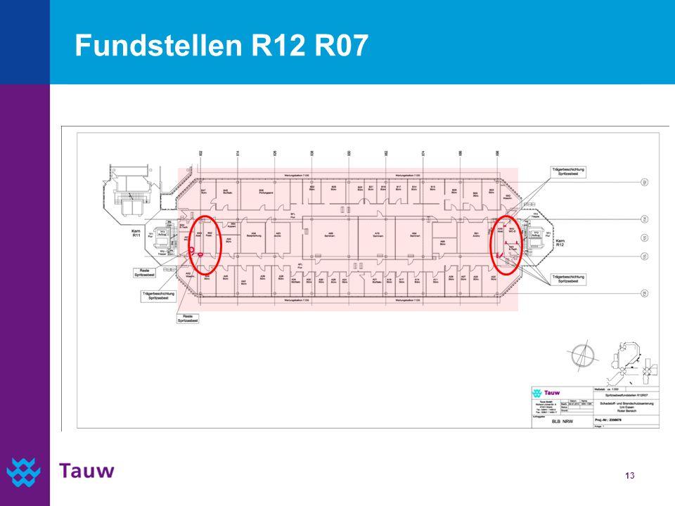 13 Fundstellen R12 R07