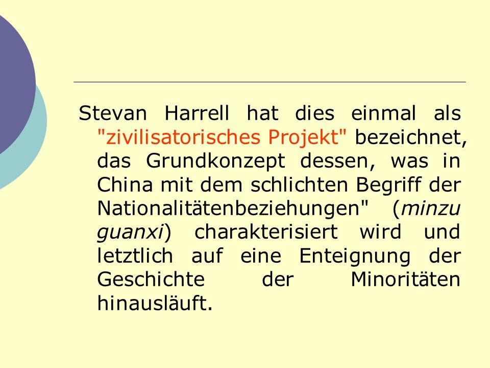 Stevan Harrell hat dies einmal als