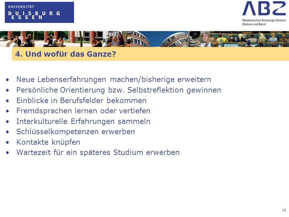 19 Akademisches Beratungs-Zentrum Studium und Beruf Viel Spaß und Erfolg wünscht das ABZ!