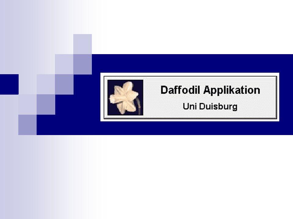 Daffodil Such-/ Agentensystem zur Literaturrecherche in Digitalen Bibliotheken Prototypen PIANO, 2000 zielt auf strategische Unterstützung während Informationssuchprozesses ab gezielte Suche - Autoren, Journalen, Keywords