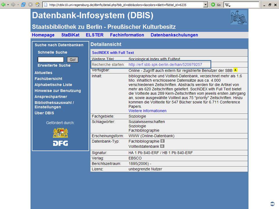 Abt. Katalogsystem und Wissenschaftliche Dienste | Kaya Tasci | Oktober 2008S. 13