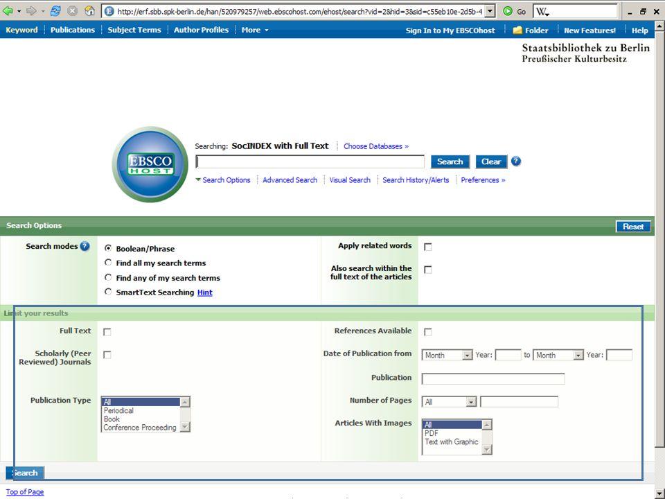 Abt. Katalogsystem und Wissenschaftliche Dienste | Kaya Tasci | Oktober 2008S. 15