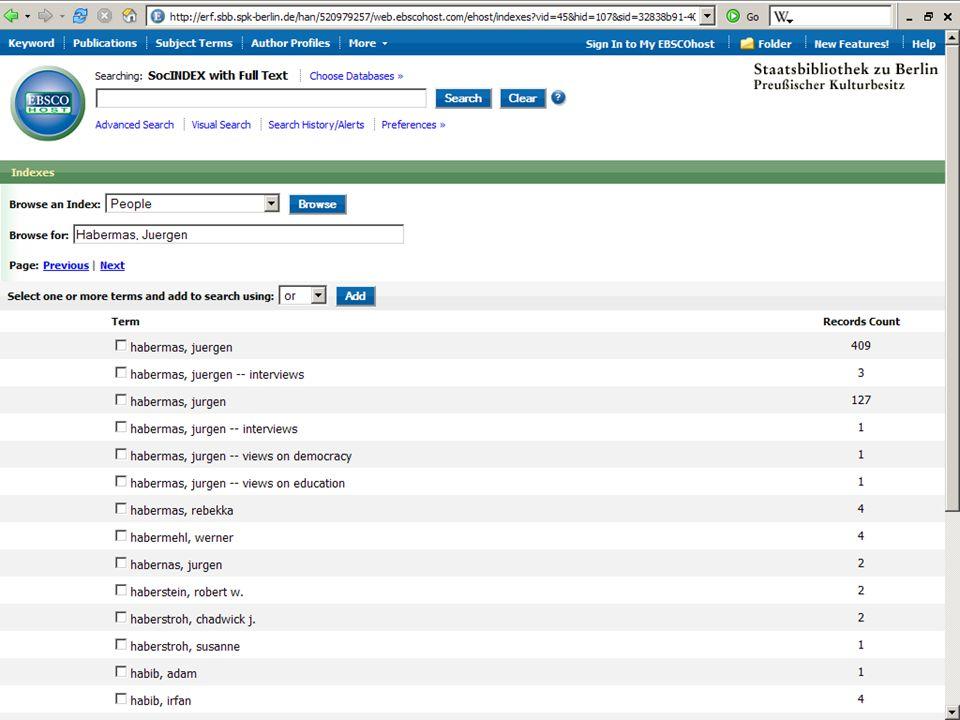 Abt. Katalogsystem und Wissenschaftliche Dienste | Kaya Tasci | Oktober 2008S. 48