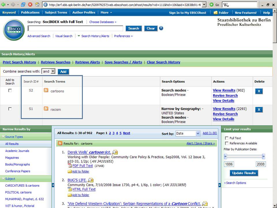 Abt. Katalogsystem und Wissenschaftliche Dienste | Kaya Tasci | Oktober 2008S. 54