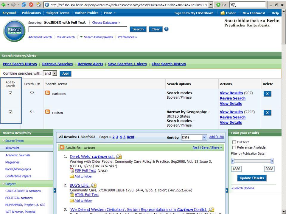 Abt. Katalogsystem und Wissenschaftliche Dienste | Kaya Tasci | Oktober 2008S. 55