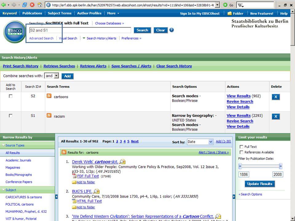 Abt. Katalogsystem und Wissenschaftliche Dienste | Kaya Tasci | Oktober 2008S. 56