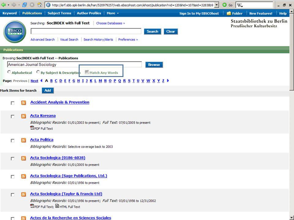 Abt. Katalogsystem und Wissenschaftliche Dienste | Kaya Tasci | Oktober 2008S. 63 Zeitschriften- datenbank Vorgaben durch den Folien-Master Linker Ran
