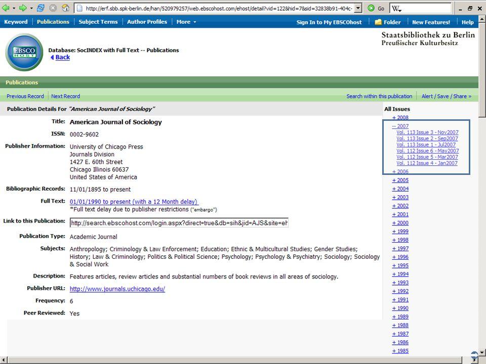 Abt. Katalogsystem und Wissenschaftliche Dienste | Kaya Tasci | Oktober 2008S. 66