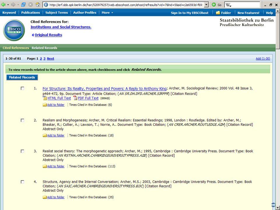 Abt. Katalogsystem und Wissenschaftliche Dienste | Kaya Tasci | Oktober 2008S. 75