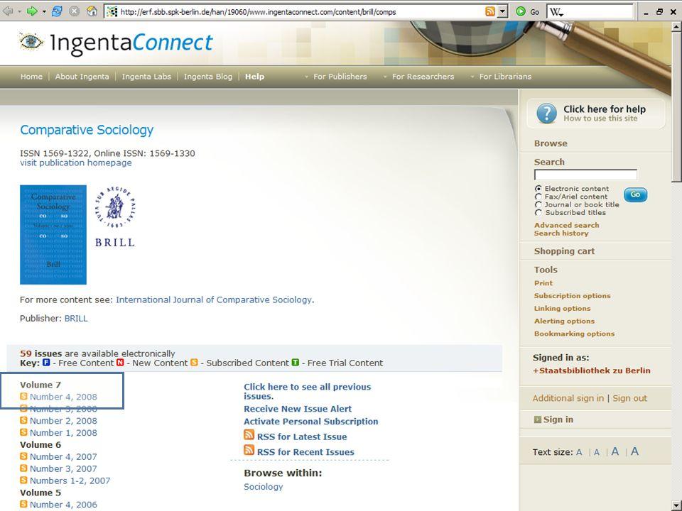 Abt. Katalogsystem und Wissenschaftliche Dienste | Kaya Tasci | Oktober 2008S. 81