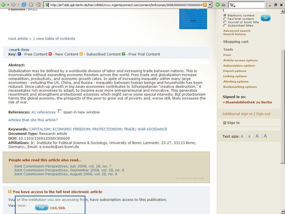 Abt. Katalogsystem und Wissenschaftliche Dienste | Kaya Tasci | Oktober 2008S. 83