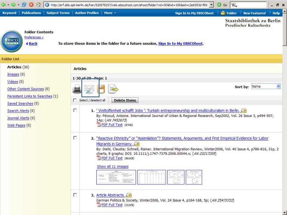 Abt. Katalogsystem und Wissenschaftliche Dienste | Kaya Tasci | Oktober 2008S. 88