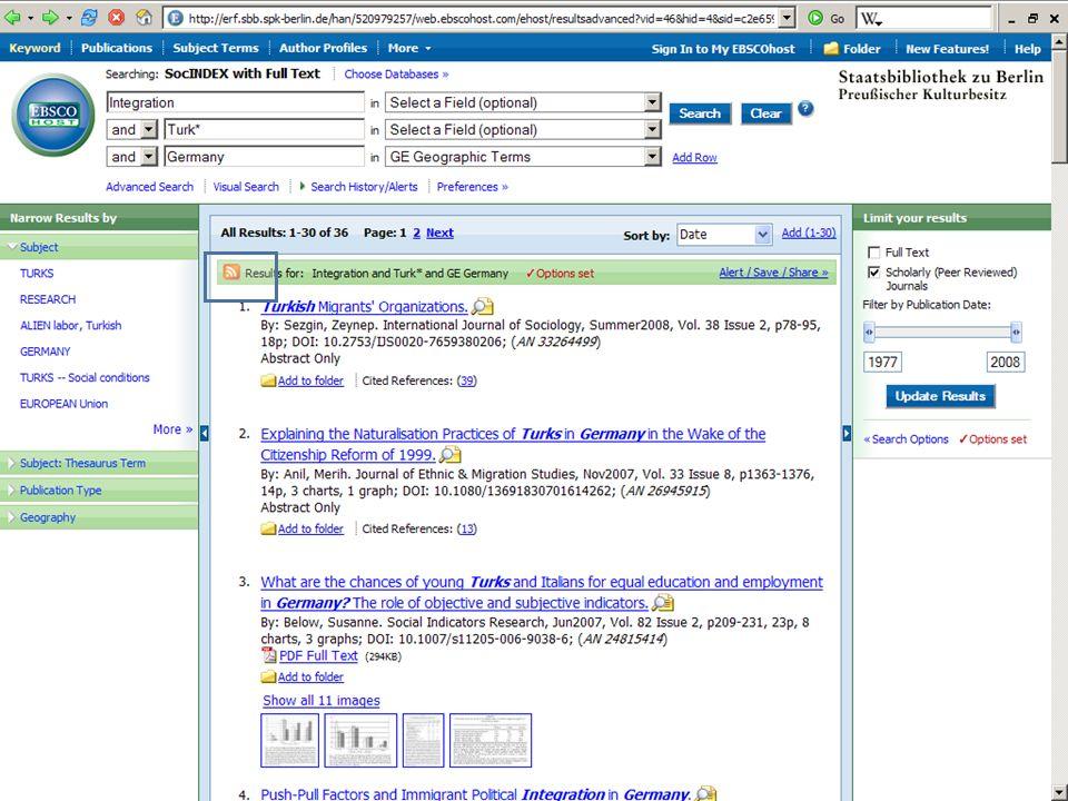 Abt. Katalogsystem und Wissenschaftliche Dienste | Kaya Tasci | Oktober 2008S. 90