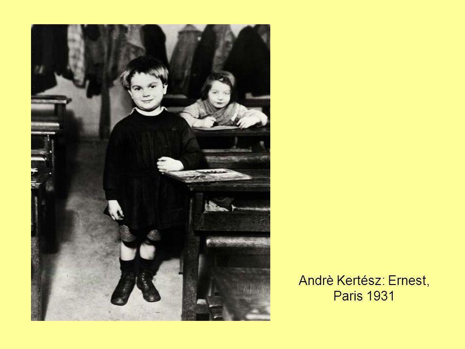 Andrè Kertész: Ernest, Paris 1931