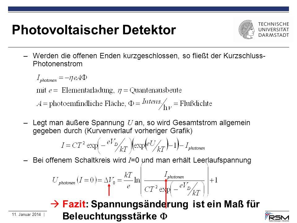 11. Januar 2014 | Fachbereich MB | Prof. Dr. A. Dreizler, Dipl.-Ing. C. Heeger | 24 –Werden die offenen Enden kurzgeschlossen, so fließt der Kurzschlu