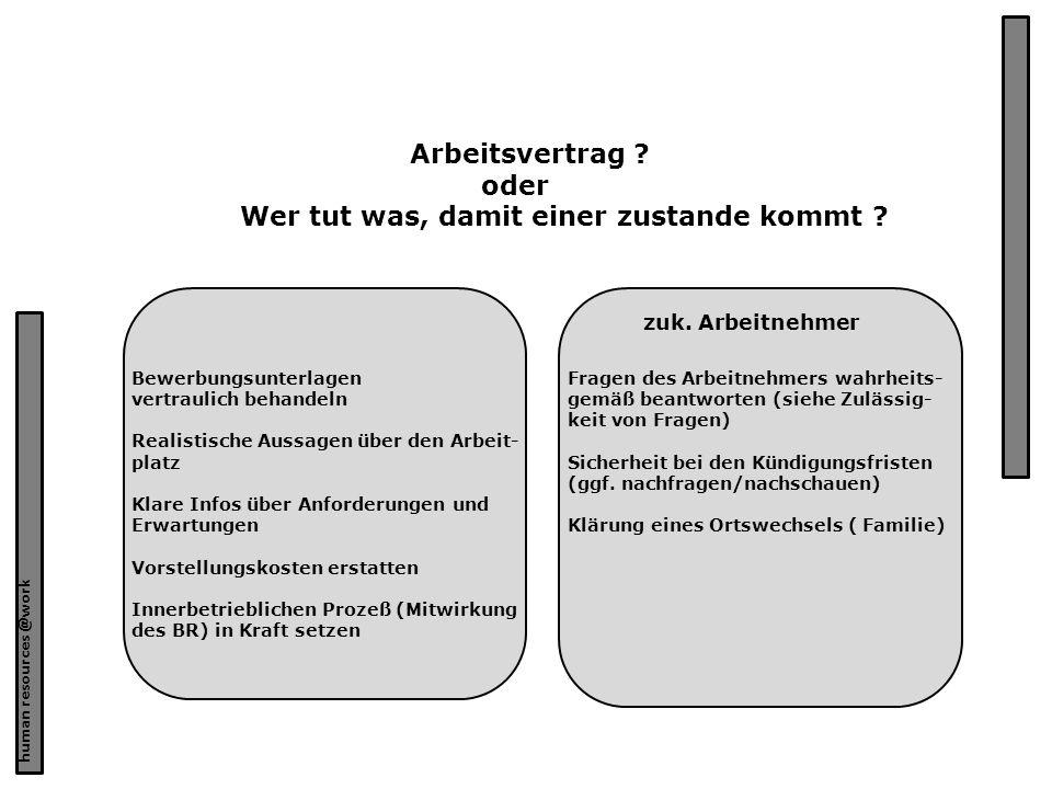hr@work – Erich Grote 3 Arbeitsrecht