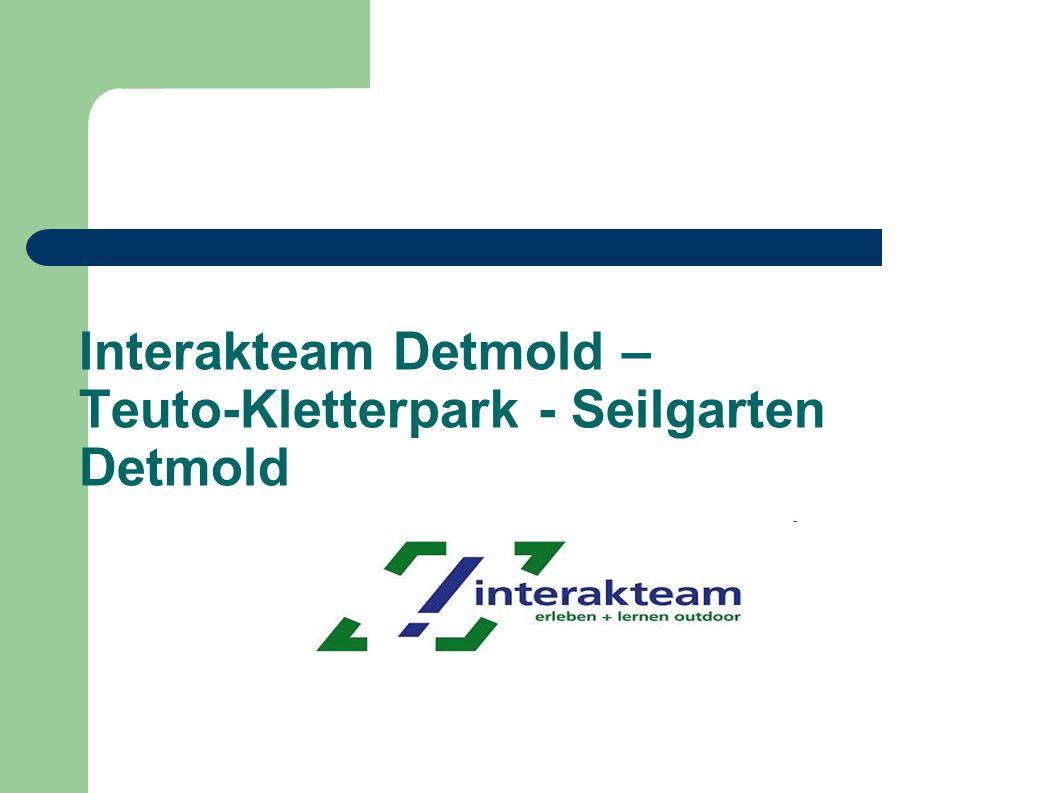 Interakteam Detmold – Teuto-Kletterpark - Seilgarten Detmold