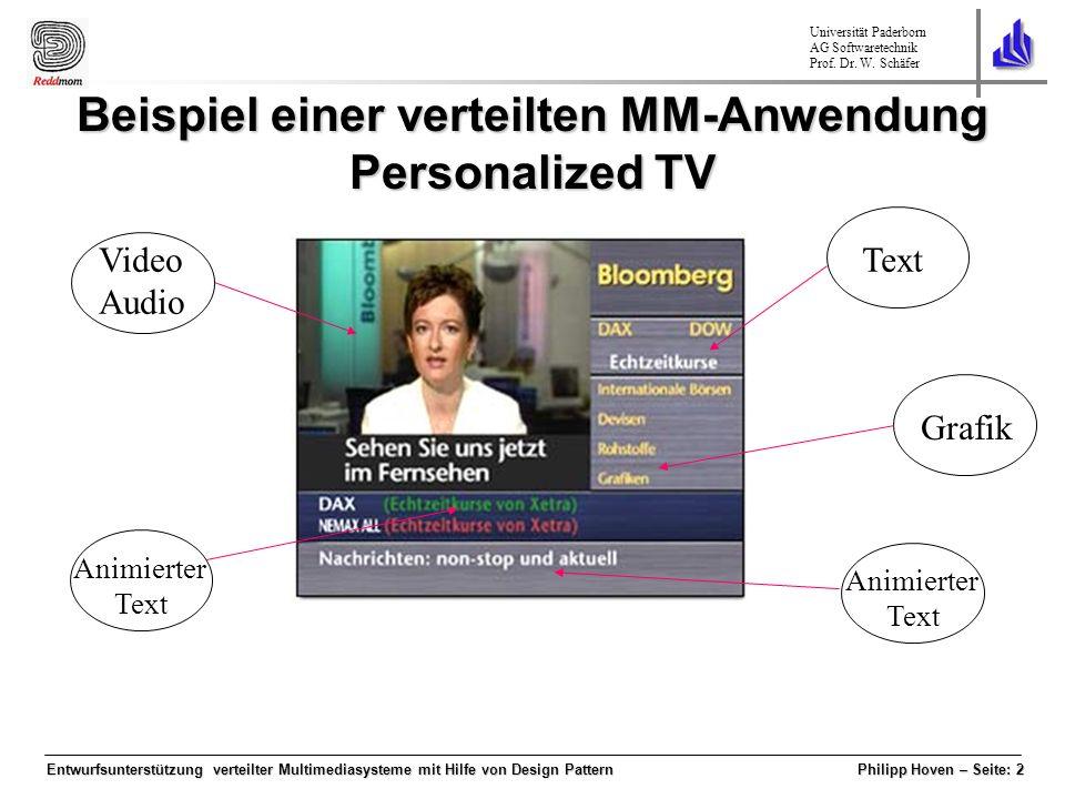 Universität Paderborn AG Softwaretechnik Prof.Dr.