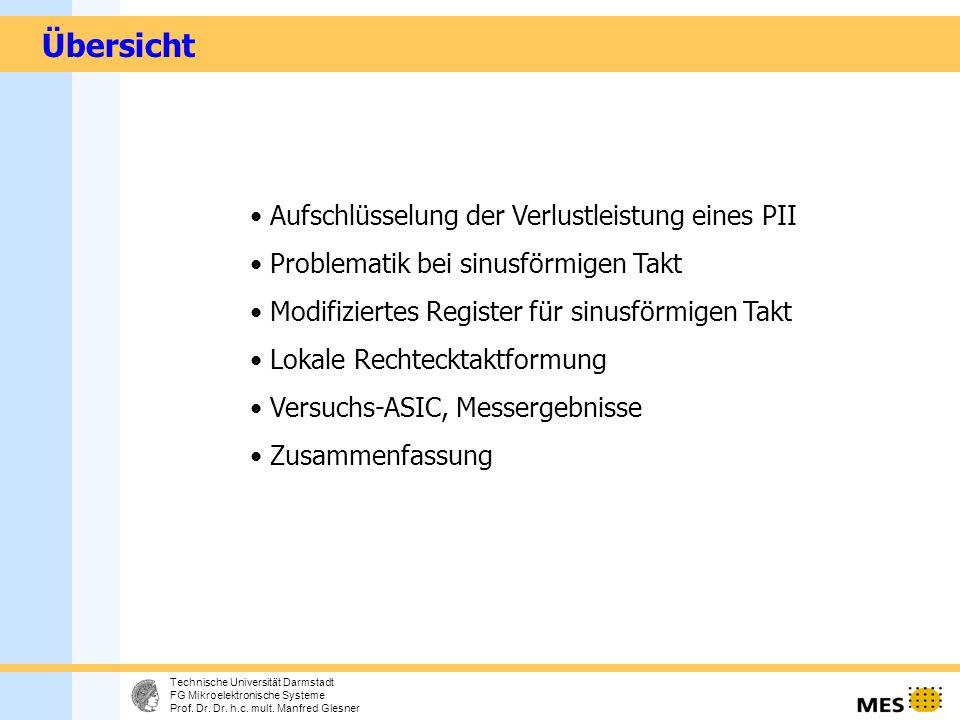 2 Technische Universität Darmstadt FG Mikroelektronische Systeme Prof.